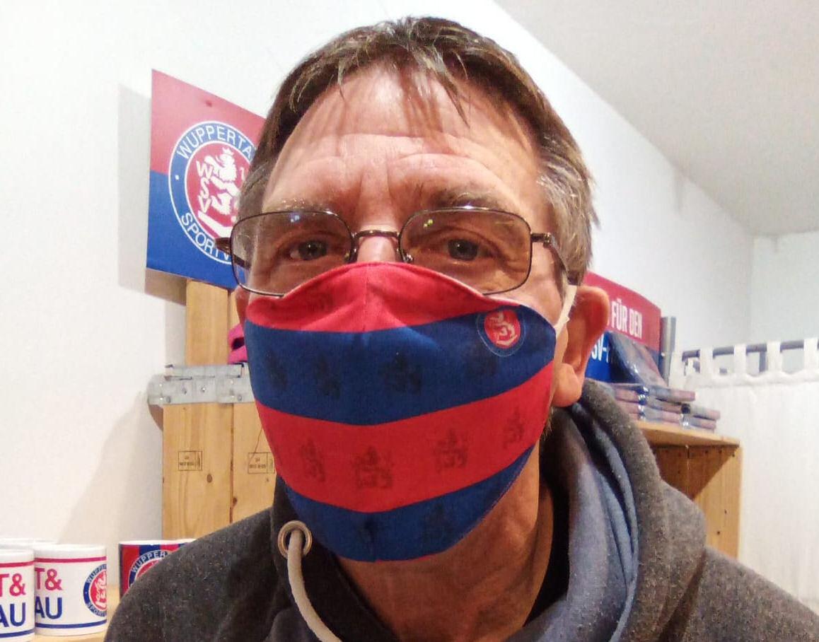 WSV-Mund- und Nasenmaske Stripes
