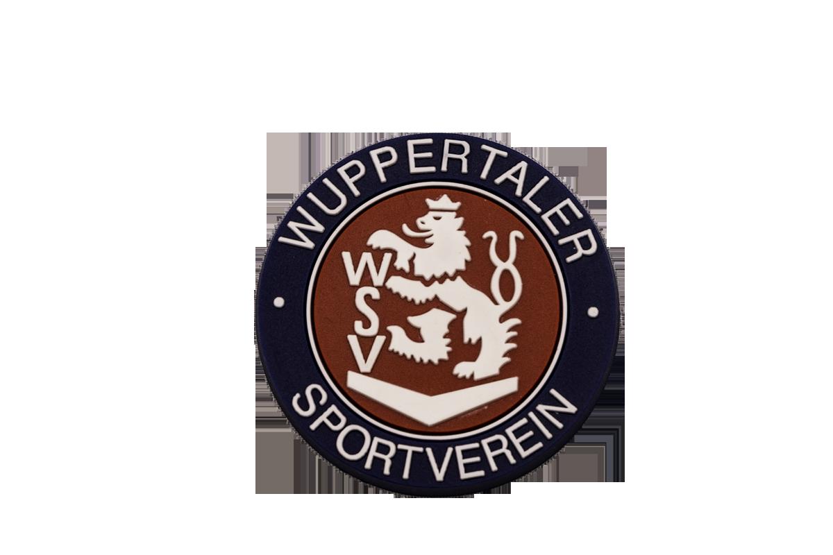 WSV-Magnet Kunststoff rundes Wappen