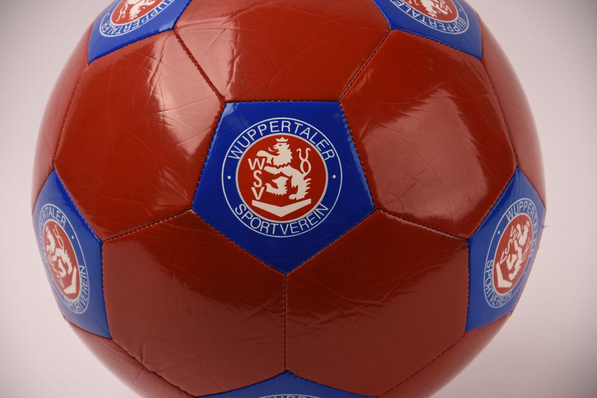 Fan-Fußball rot-blau Gr. 5