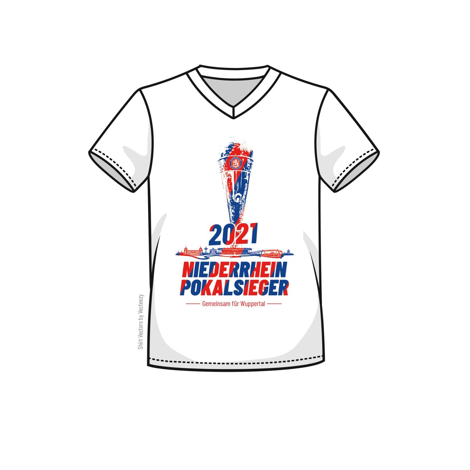 T-Shirt Niederrheinpokalsieger 2021