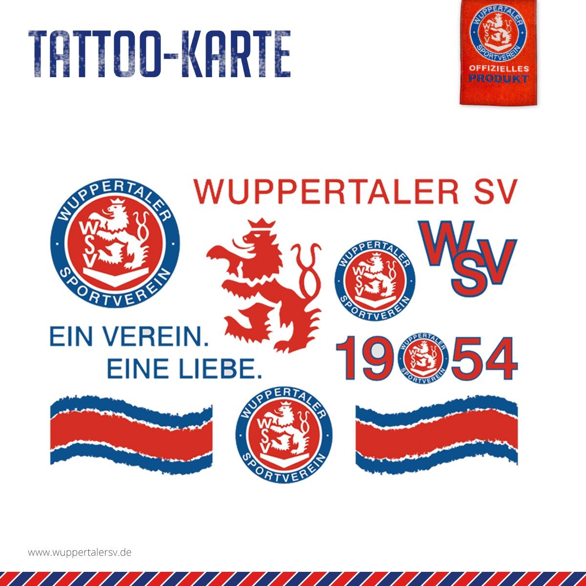 Tattoo-Karte Wappen