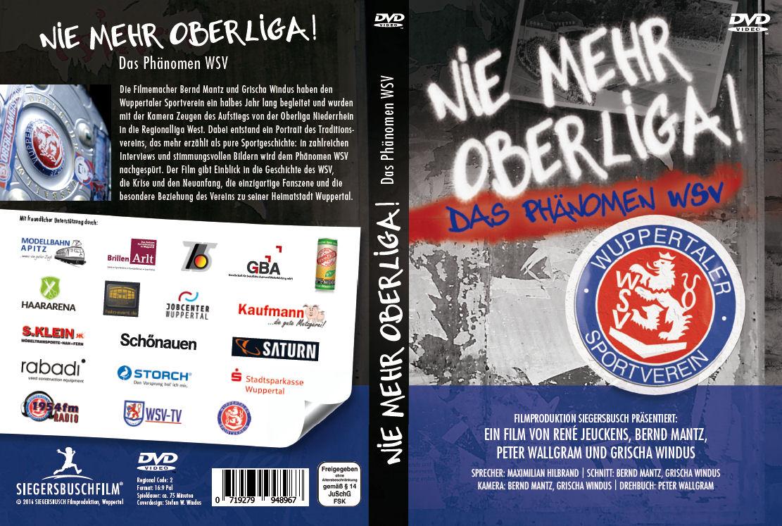 """DVD """"Nie mehr Oberliga"""" Das Phänomen WSV"""