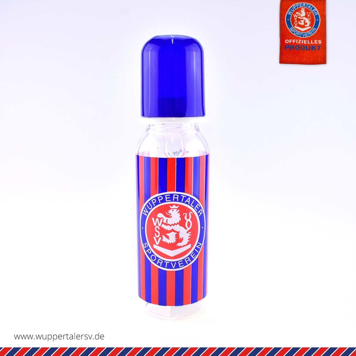 Baby-Trinkflasche rot-blau