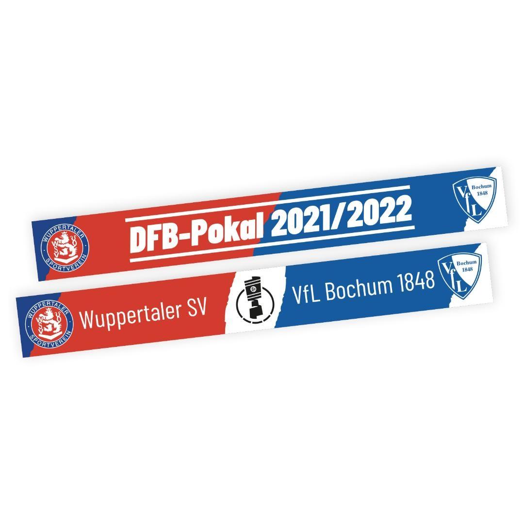 Fanschal DFB-Pokalspiel WSV-VFL Bochum